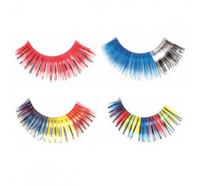 RED CHERRY Color False Eyelashes